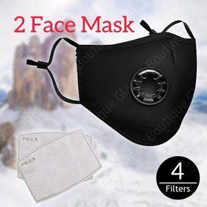 (2)🌸Outdoor Festival Sport, Face Mask